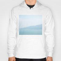 wallpaper Hoodies featuring Wallpaper Sea by Marina Bottega