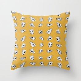 cubone helms Throw Pillow