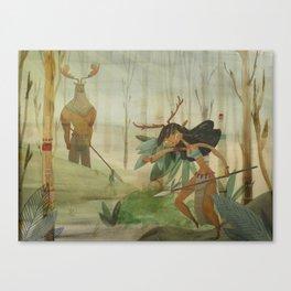 Mundos perdidos Canvas Print