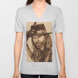 Hell on Wheels Inspired, Mr. Bohannon Unisex V-Neck