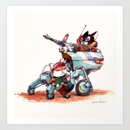 The Off-Road Scout Buggy Art Print