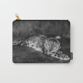 Lazy Leopard Carry-All Pouch