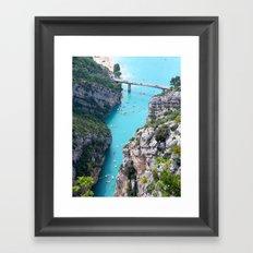 yachting Framed Art Print