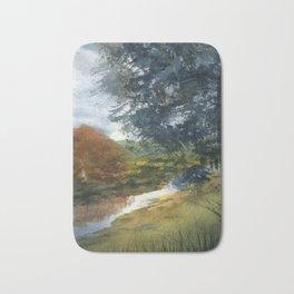 Autumn River Bath Mat