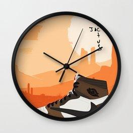 Travis Jordan 1 Scott Poster Wall Clock
