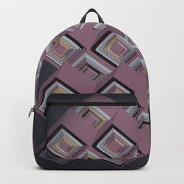 3D Cubes Backpack