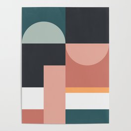 Abstract Geometric 07 Poster