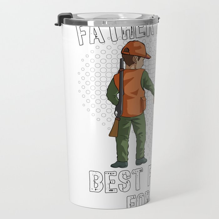 Father and Son Best Friend for Life Hunting Gift Travel Mug