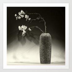 Still Life with Apple Blossoms Art Print