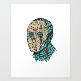 Undead Jason Art Print