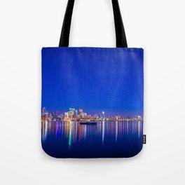 Blue Toronto Tote Bag