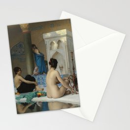 AFTER THE BATH - JEAN-LEON GEROME Stationery Cards