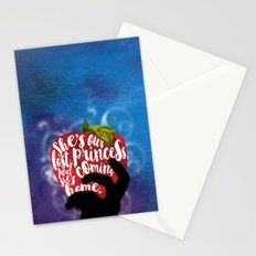 Winter - Our Lost Princess design Stationery Cards