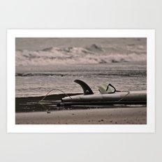 Surfboard 1 Art Print