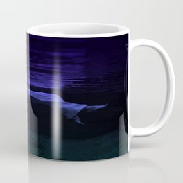Rising To The Top : Deep Blue Water Photograph Coffee Mug