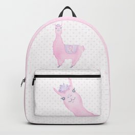 Llama for the Cure: Keep Calm and Fight On Backpack