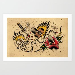 Flash sb Art Print