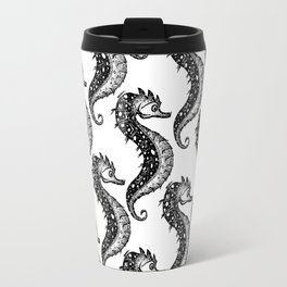 Hippocampus Pattern Travel Mug