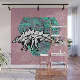 Stegosaur Fossil Wall Mural