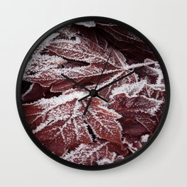 Frost 2 Wall Clock