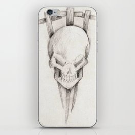 Triple cross iPhone Skin