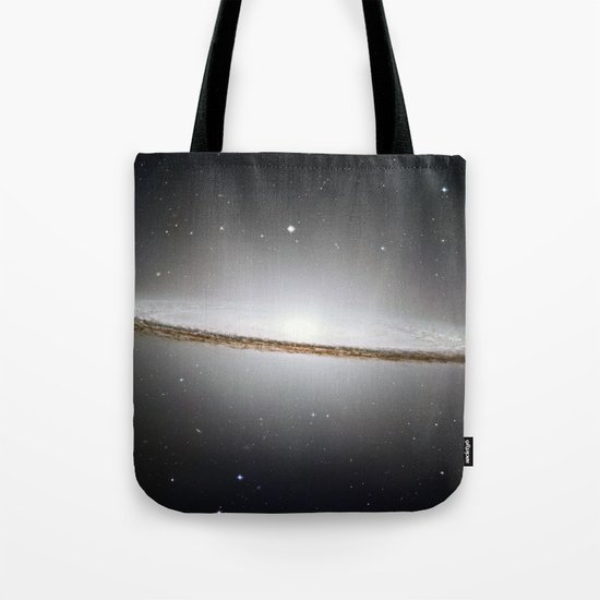 Sombrero Galaxy Tote Bag