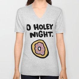 O Holey Night Unisex V-Neck