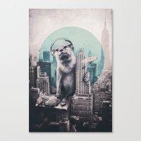 dj Canvas Prints featuring DJ by Ali GULEC