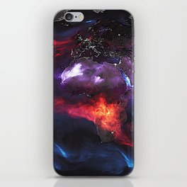 Beauty of Pollution / Aerosol Earth - Middle Part iPhone Skin