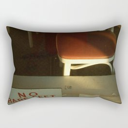 no bare feet Rectangular Pillow