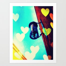 Afternoon Love Art Print