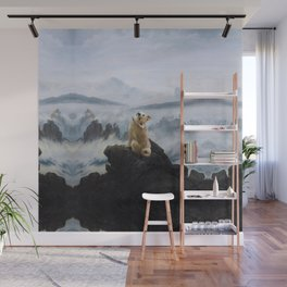 The Wanderer Above the Sea of Doge Wall Mural