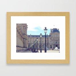 Louvre Lights Framed Art Print
