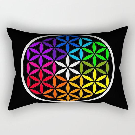 Secret flower of life Rectangular Pillow