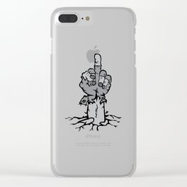 DelStalk Undead Clear iPhone Case