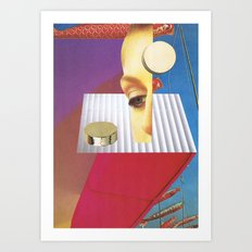 Reality Features Art Print