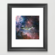 Search for delicious ...(ll) Framed Art Print