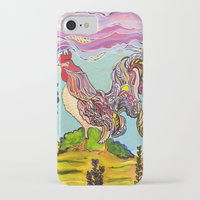 cowboy iPhone & iPod Cases featuring Cowboy by Amy Keith Barney