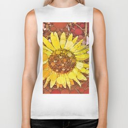 :: Sunflower Wishes :: Biker Tank