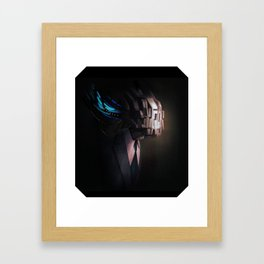 head test Framed Art Print