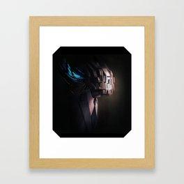 head test Framed Art Print