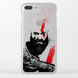 Kratos Clear iPhone Case