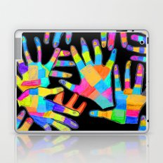 Hands of colors | Hands of light Laptop & iPad Skin