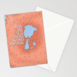 Lagoa das Sete Cidades Stationery Cards