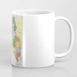 Map of Europe Coffee Mug