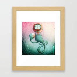 Plancton Framed Art Print