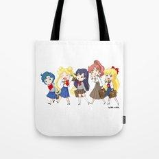 The Sailor Senshi Tote Bag