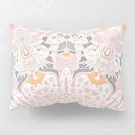 BOHO SUMMER JOURNEY MANDALA - SUNSHINE YELLOW GREY Pillow Sham