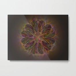 Flower of Magic Metal Print