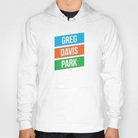 greg guillemin Hoodies featuring Greg Davis Park by Parks of Seattle